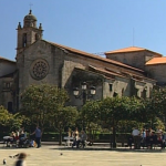 Panorámica de Iglesia en Pontevedra