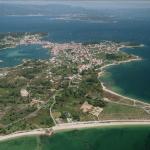 Vista aérea de Arousa