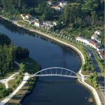 Vista Aérea Puente de Pontevedra