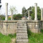 Palco antiguo en Boiro
