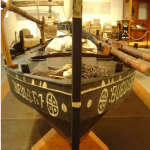 Barca de exposición
