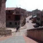 calle mayor por donde entran los peregrinos