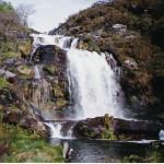 cascada en el rio xestosa