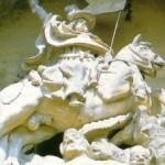 escultura de santiago matamoros