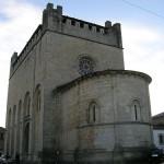 iglesia de san xoan Portomarin