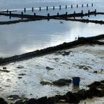 Zona de marisqueo en la Isla de A Toxa