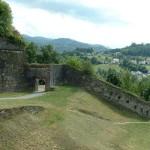 muralla en el pueblo
