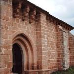parte exterior de la ermita e aniz