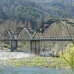 ponte sobre rio sil