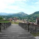 puente de madera en saint pied de port