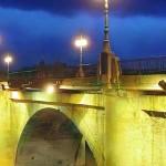 puente-de-piedra entrada de peregrinos a logroño